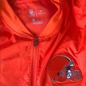Cleveland Browns Long-sleeve Pullover Nike Dryfit